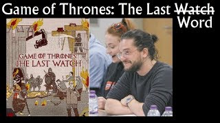 Game of Thrones: The Last Watch & the Last Word (behind the scenes, documentary)