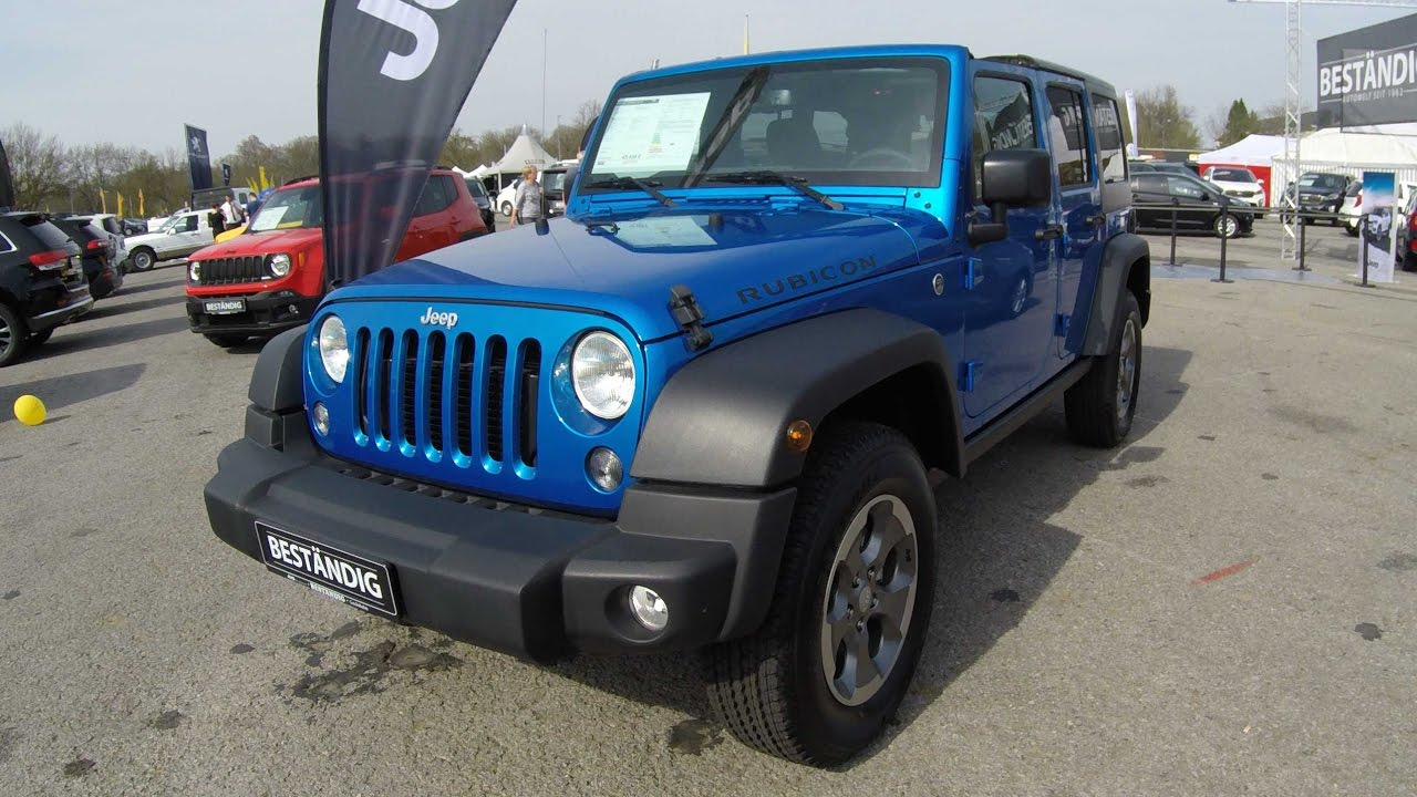 jeep wrangler unlimited rubicon trail rated cabrio hydro blue walkaround interior. Black Bedroom Furniture Sets. Home Design Ideas