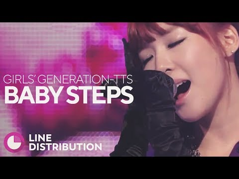 GIRLS' GENERATION-TTS - Baby Steps (Line Distribution)