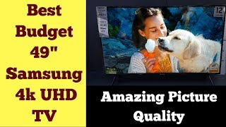 "Best Budget 49"" Samsung 4k UHD TV 
