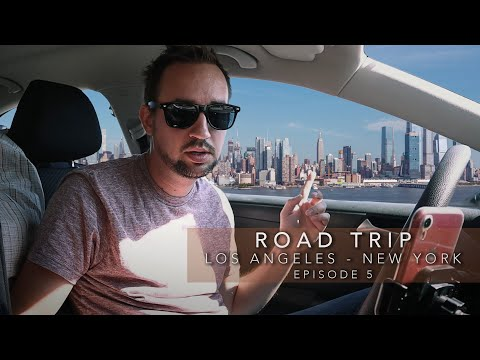 I MADE IT TO NEW YORK CITY - Driving From Los Angeles To New York | Episode 5