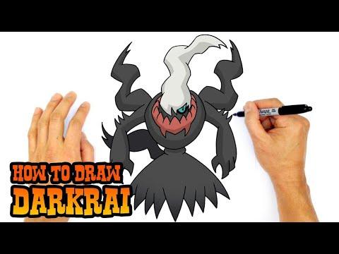 Come Disegnare Darkraidisegni Pokemon 1 Youtube
