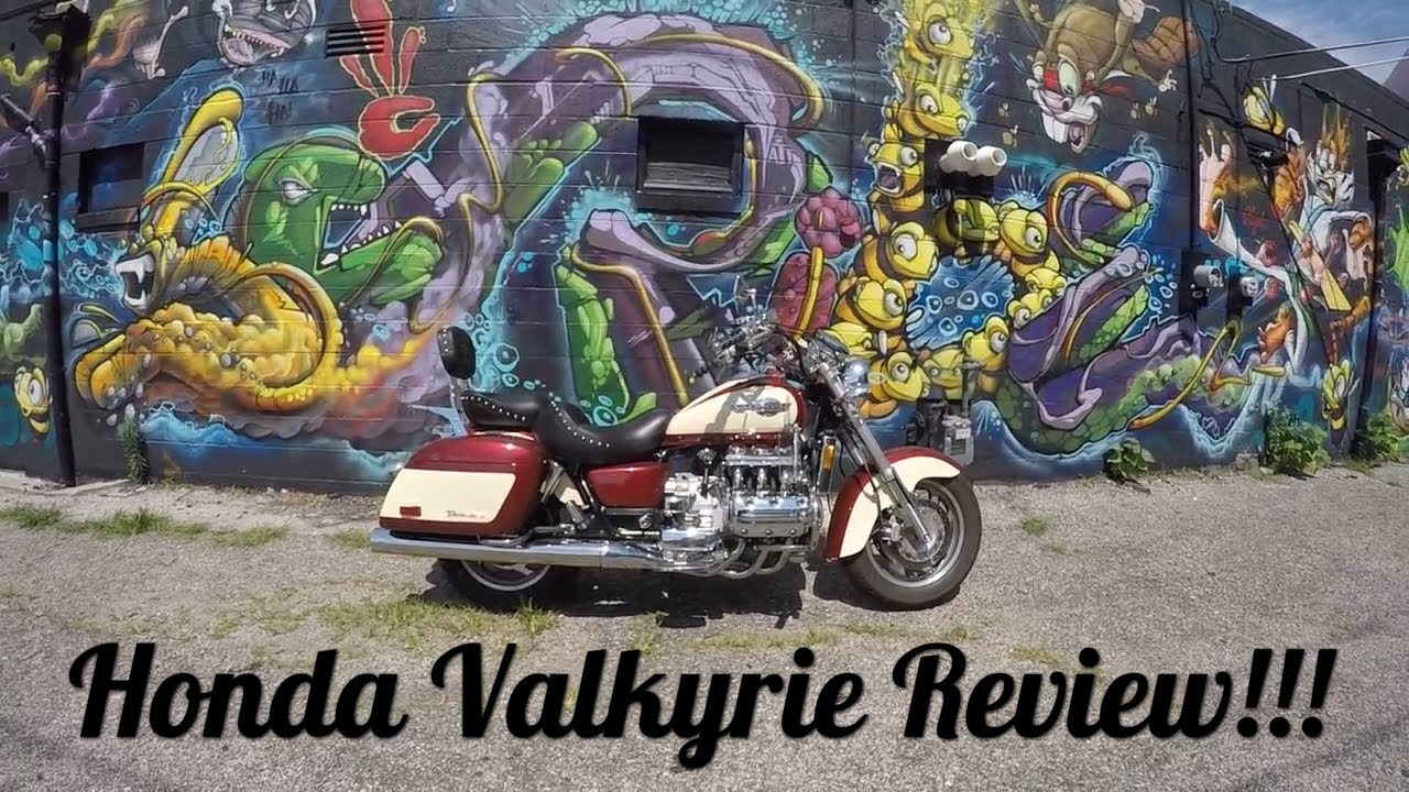 1998 Honda Valkyrie Walk Around Review and Showing - YouTube