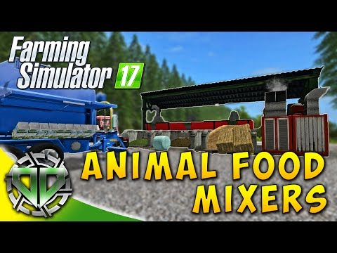 Snettertons Farm: Animal Food Mixers! : Farming Simulator 17 : EP2