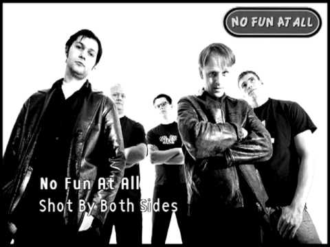 No Fun At All - Shot By Both Sides (Magazine cover)