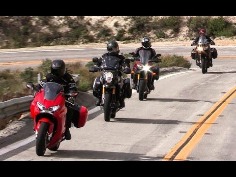 Honda Interceptor vs Kawasaki Versys 1000LT vs Suzuki V Strom 1000 Adventure vs Yamaha FJ-09
