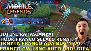 GA SALAH LAGI GW CALON TOP GLOBAL FRANCO ! #BKENTRAJAFRANCO