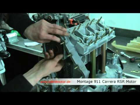 Montage Porsche 911 Carrera RSR Motor