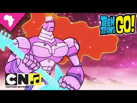 Teen Titans Go | Rise Up & Night Begins to Shine Music Video | Cartoon Network