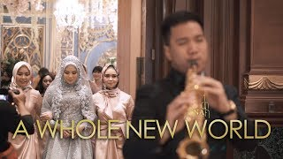 Download lagu A Whole New World  ( Wedding Entrance ) Live Performance by DNA Music Entertainment at Bidakara