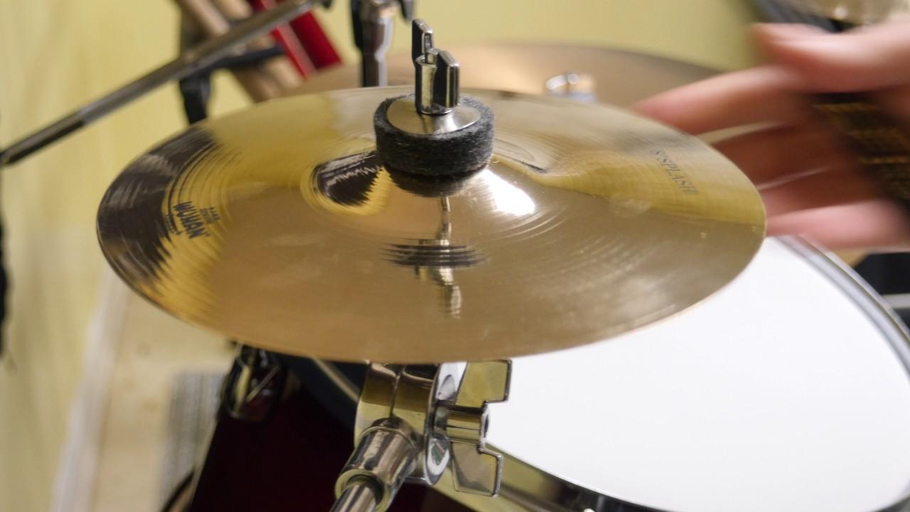 wuhan 8 splash cymbal sound test youtube. Black Bedroom Furniture Sets. Home Design Ideas