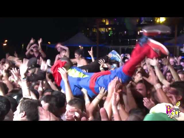 Be You On Tour 2013 @ Gandía - Insert Sound Festival with Steve Aoki - Aftermovie Videos De Viajes