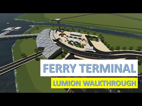 Ferry Terminal | Design Project | Sem 9 - Flythrough