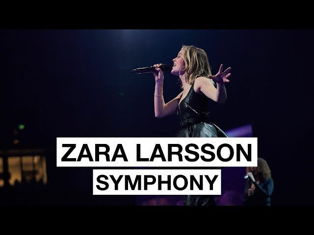 Zara Larsson - Symphony (Highlight) |  The 2017 Nobel Peace Prize Concert