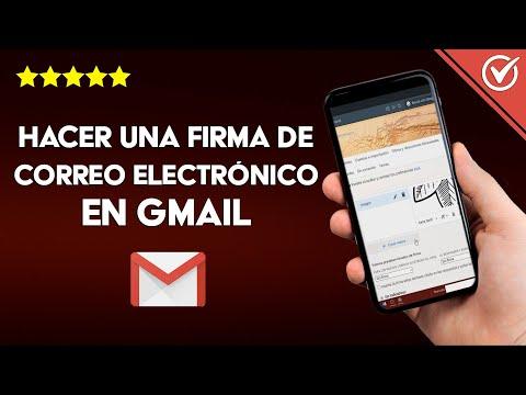 Cómo Hacer una Firma de Correo Electrónico en Gmail con Imagen o Hipervínculos