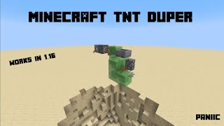 MINECRAFT 1.16 TNT DUPER - Simple And Easy!