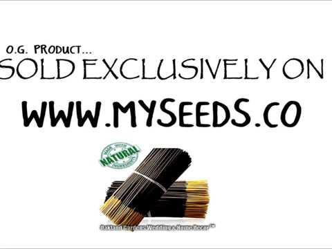 VANILLA Incense - Natural Premium Incense By Oakland Gardens