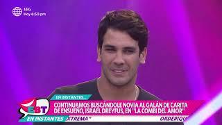Israel Dreyfus aclaró que sí tuvo romance con Sheyla Rojas