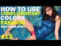 how to use complementary colors in fashion photography - how to shoot a fashion editorial