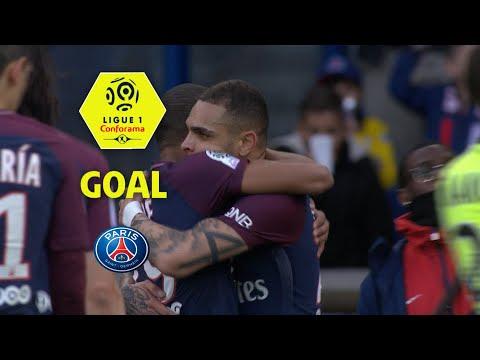 Goal Kylian MBAPPE (25') / Paris Saint-Germain - Angers SCO (2-1) (PARIS-SCO) / 2017-18