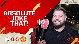 TIE IS DONE, DONE! LASK Linz 0-5 Man Utd | Stephen Howson Fan Cam