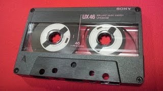 ソニー カセットテープ SONY UX High Position TypeⅡ Retro Vintage Compact Cassette Collection