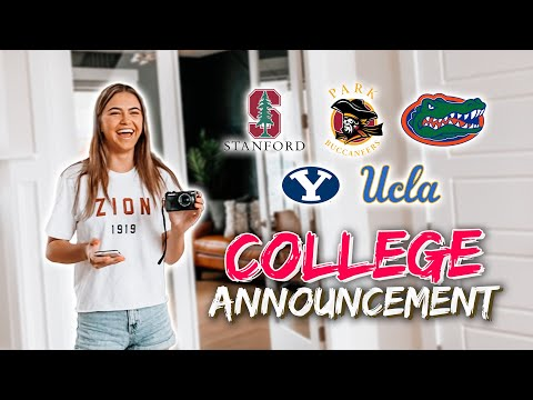 COLLEGE DECISION ANNOUNCEMENT | *WHERE'S SHE GOING?*