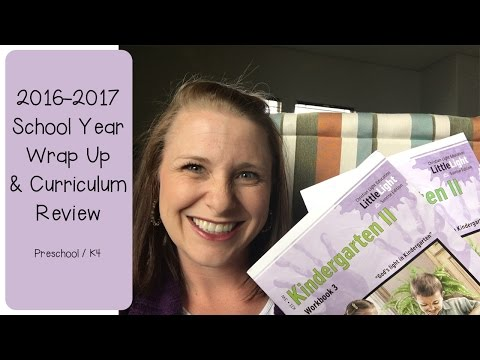 School Year Wrap Up & Curriculum Review
