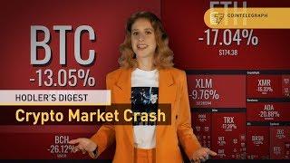 Market Crash, Bitcoin Cash Holy War | Hodler's Digest