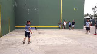 Peloncito vs dilan pelota lona