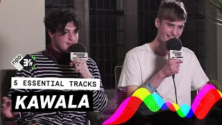 KAWALA wants Bon Iver to produce their music | 5 Essential Tracks | 3FM