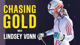 Lindsey Vonn Spends Final Training Session With Rivals   Chasing Gold   Pyeongchang 2018   Eurosport