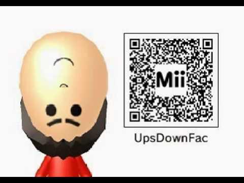 frezhor mii maker upside down face free giveaway qr