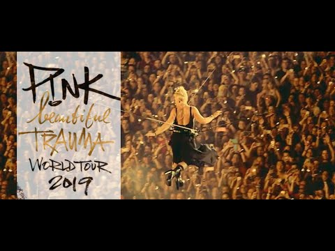 🔴 P!nk - Beautiful Trauma Tour 2018 - Full concert HD 720p