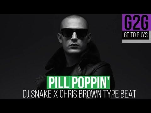 """Club Beat Instrumental   Dj Snake ft Chris Brown Type Beat """"Poppin Pills"""""""