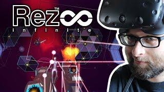Rez Infinite - First Impressions - HTC Vive