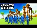 Massive MAMMOTH WALKERS vs CAVEMEN in TABS! (Totally Accurate Battle Simulator Update)