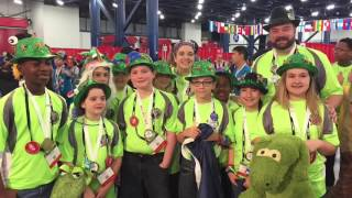 Bayou Builders FLL #4043 - 2017 FLL World Festival