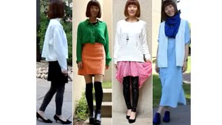 How to wear skirts and dresses in the fall 秋季裙装搭配 Thumbnail