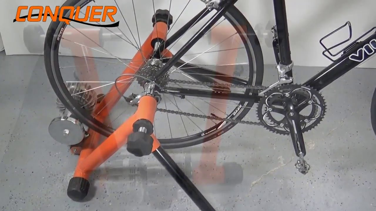 89beaa54419 How to use your Conquer Trainer. Vilano Bikes