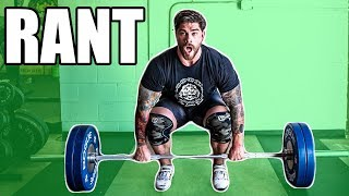 415 clean + Metal + Rant for Olympic lifters