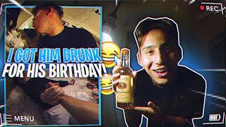 I GOT MY VIDEOGRAPHER DRUNK FOR HIS 21ST BIRTHDAY