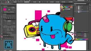 Speed Art: Ghostly Dj character design in adobe Illustrator-Swiftyspade