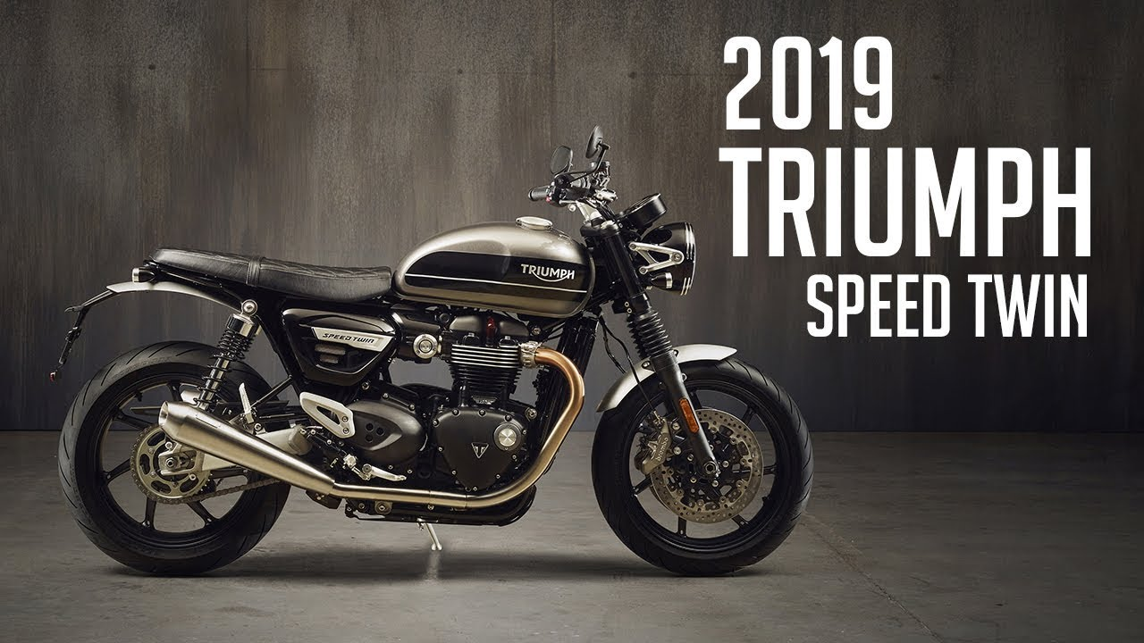 2019 Triumph Speed Twin // 4K Image Montage From Launch