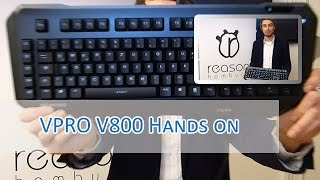 VPRO V800 Gaming Keyboard Hands on [german/HD]