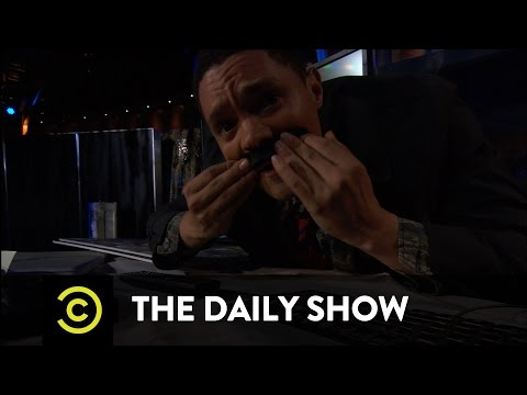 Envisioning President Trump's First Term: The Daily Show