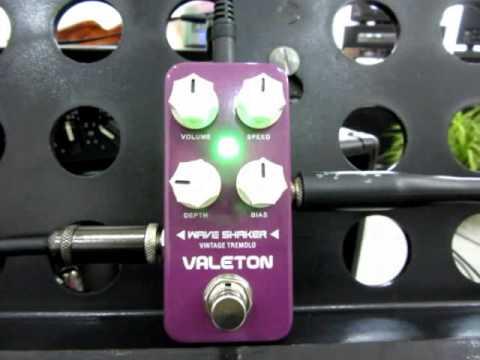 อ.โอ๋ ลองเอฟเฟค Valeton Wave Shaker Vintage Tremolo Guitar Effect