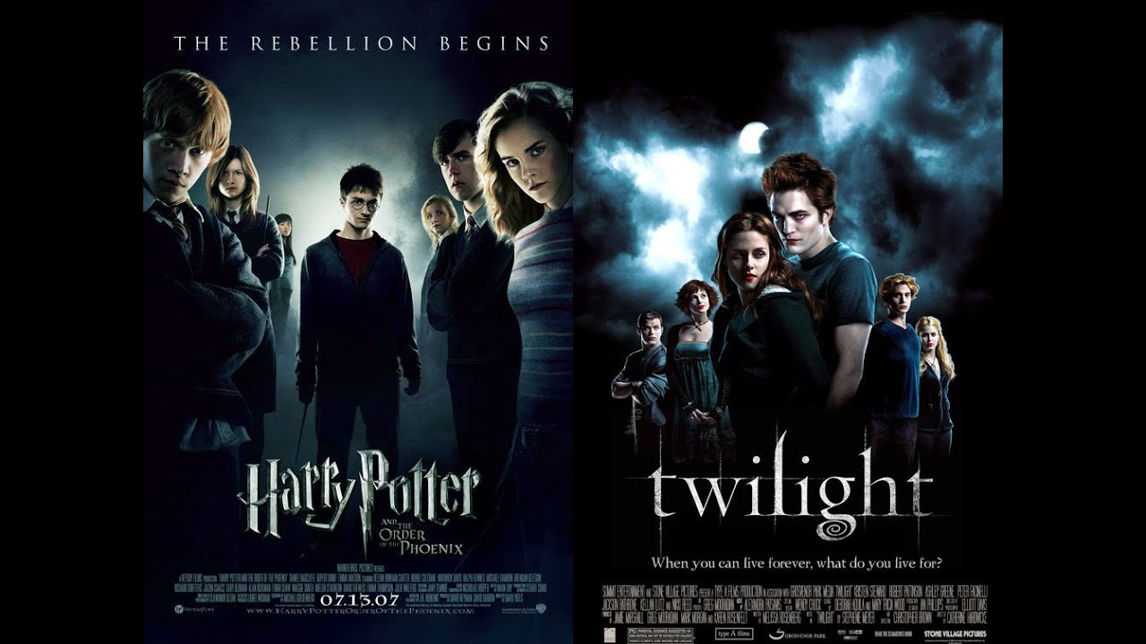 Which one do you like better Harry Potter or Twilight?