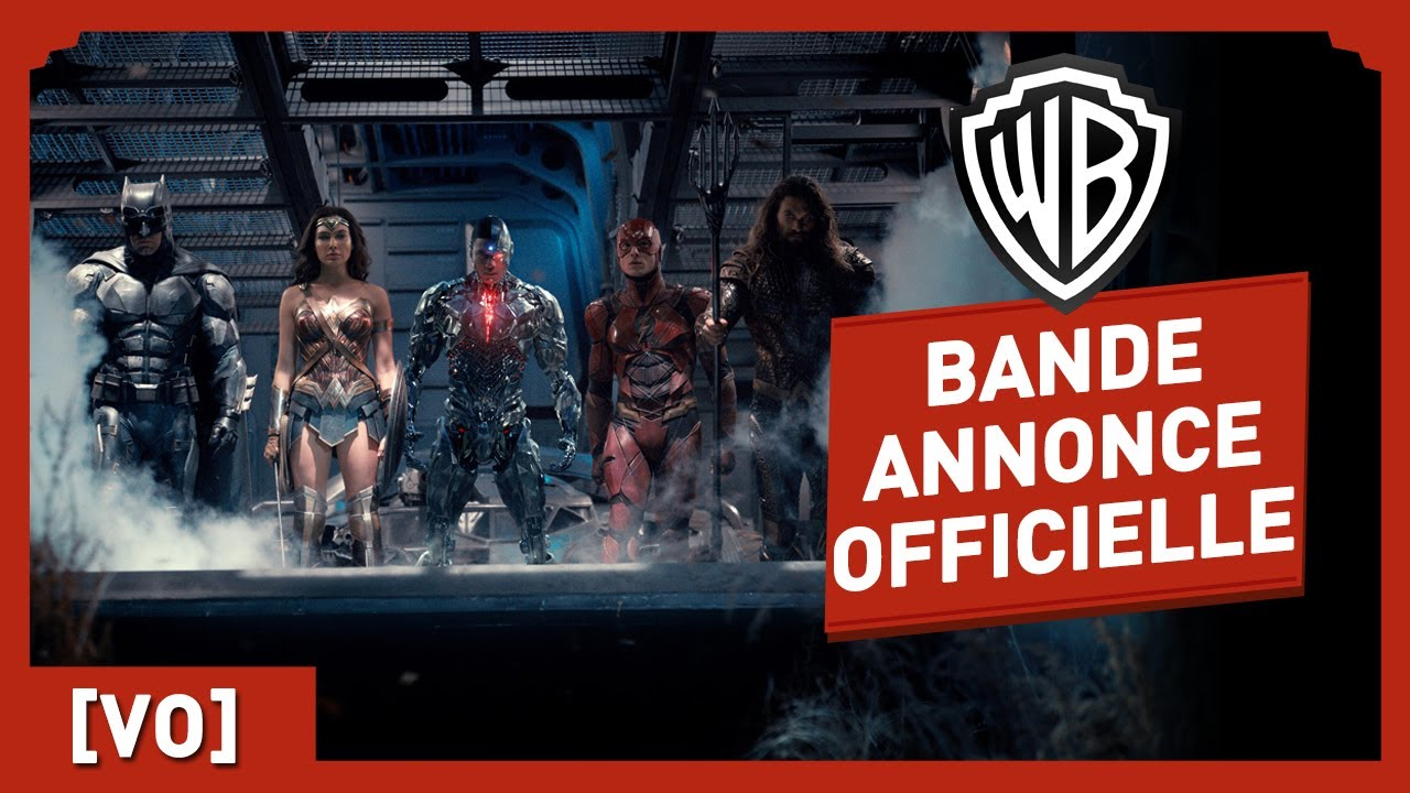 Justice League - Bande Annonce Officielle Comic Con 2017 (VO)