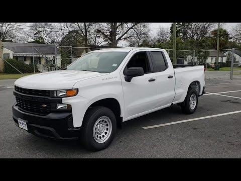 NEW 2019 CHEVROLET SILVERADO 1500 2WD DOUBLE CAB 147 at Five Star Chevrolet Buick GMC (NEW) #00...